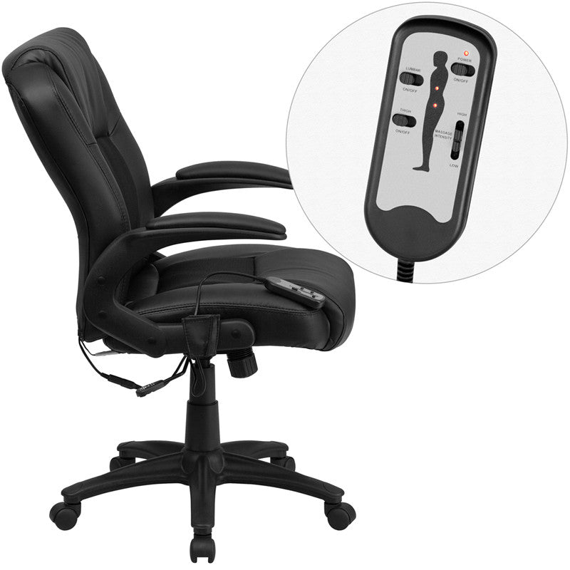 Madison Massaging Office Chair - living-essentials