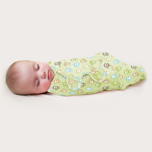 baby swaddling newborn wrap blanket envelope cocoon 100% cotton 0-6 months babies sleeping bag