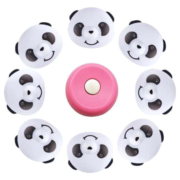 Bed Sheet Adjustable Fasten Holder Panda Buckle Bed Sheet Non-Slip Quilt Cover Magnetic Anti-Move Buckle Fixer Clip Pegs