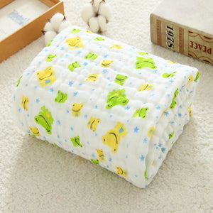 Muslin Swaddle Baby Blankets Swaddling 100% Cotton Swaddle Wrap for Newborn Babies 6 Layer Bath Towel Blanket Baby Bedding