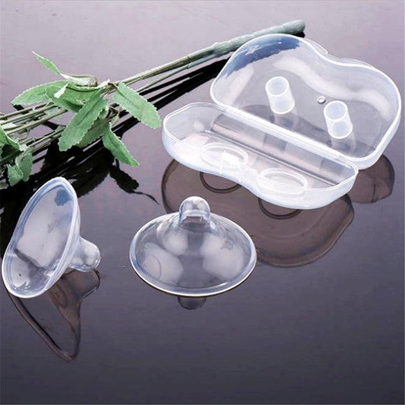 Breast Pump Accessories 2 pc/set Silicone Nipple Protectors Feeding Mothers Nipple Shields Protection Cover Breastfeeding Milk s