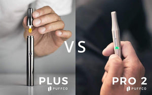 The Puffco Plus vs Pro 2