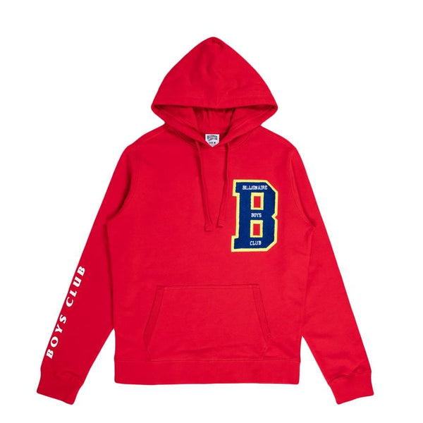 Billionaire Boys Club Letters Hoodie (Crimson) 801-6307