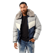 Jordan Craig Puffer Jacket (London Blue) 91505