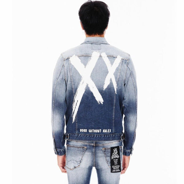 Cult Of Individuality Type II Denim Jacket (XX Glacier) 621A3-TT10D