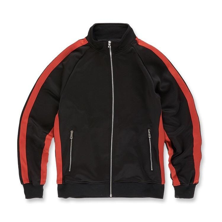 JORDAN CRAIG OXFORD TRACK JACKET BLACK