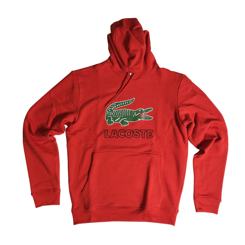 LACOSTE HOODIE RED SH6342RED