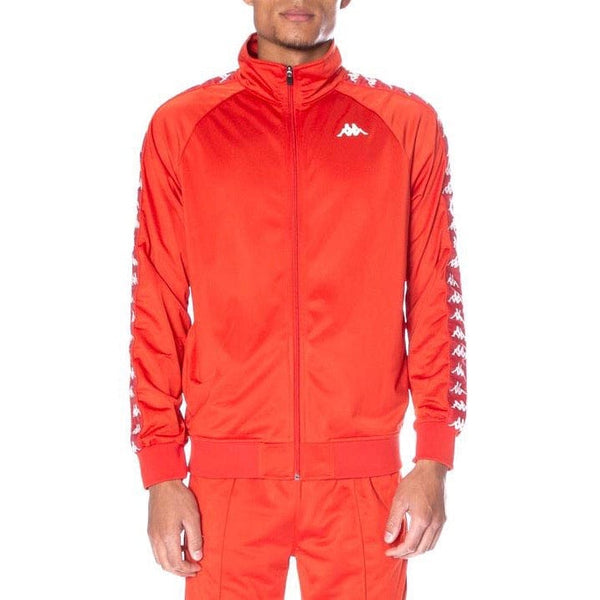 Kappa Banda Anniston Track Jacket Red Blaze/ White