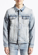 EMBELLISH ERWIN JACKET - BLUE EMBH218-17
