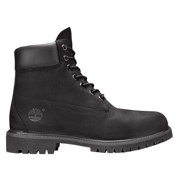 TIMBERLAND BOOT 6IN WATERPROOF NUBUCK BLACK