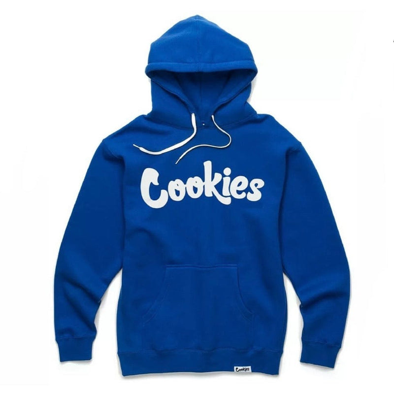 Cookies Original Mint Fleece Hoodie (Royal/White) 1546H4387