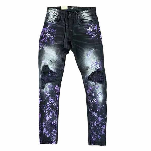Jordan Craig Sean Paint Jean (Galaxy Black) JR1013