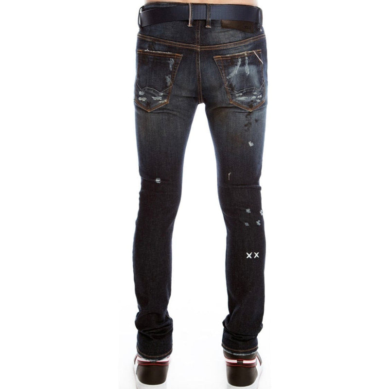 Cult of Individuality Punk Super Skinny Stretch Jean (Tidal)