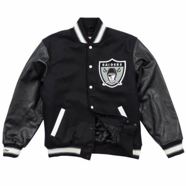 Mitchell & Ness Authentic Wool Varsity Jacket Oakland Raiders (Black)