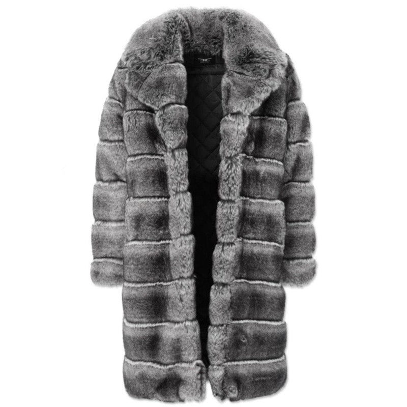 Jordan Craig Don Juan Faux Fur Coat (Chinchilla)