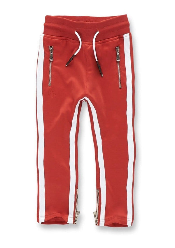 KIDS JORDAN CRAIG OXFORD TRACK PANTS - RED - 87333K