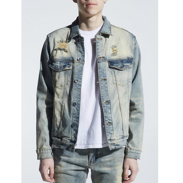 Crysp Bering Denim Jacket Lt. Vintage