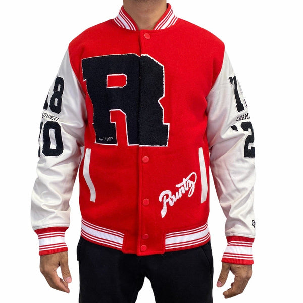 Runtz Unlimited Varsity Jacket (Red) 37343