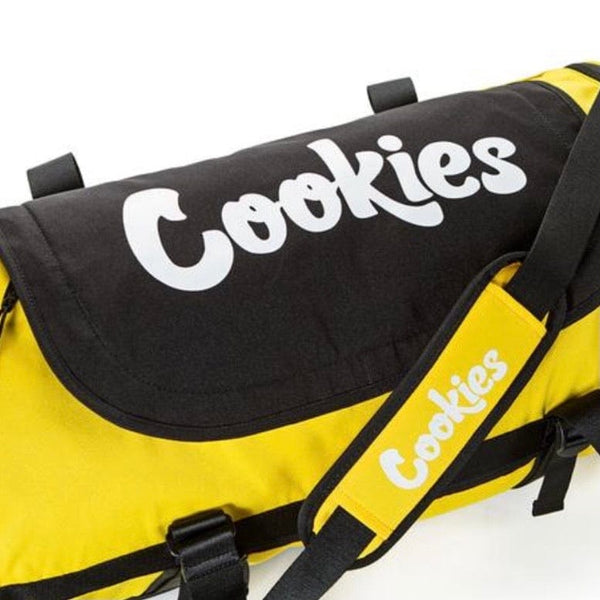 Cookies Parks Utility Duffel Bag (Yellow)