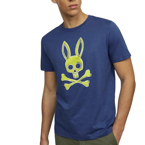 Psycho Bunny Sherwood T Shirt (Blue)