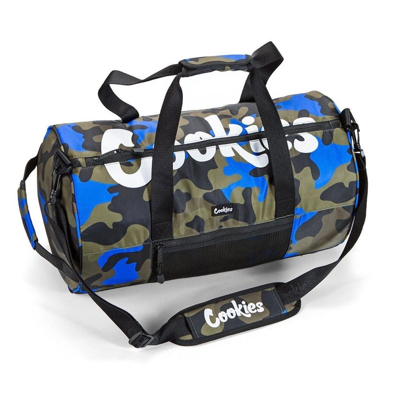Cookies Summit Ripstop Duffel Blue Camo