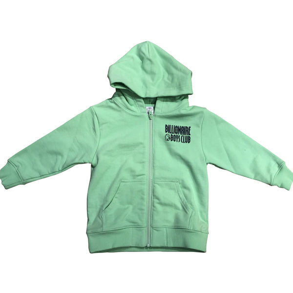 KIDS BILLIONAIRE BOYS CLUB SPACE SCOUT HOODIE - GREEN