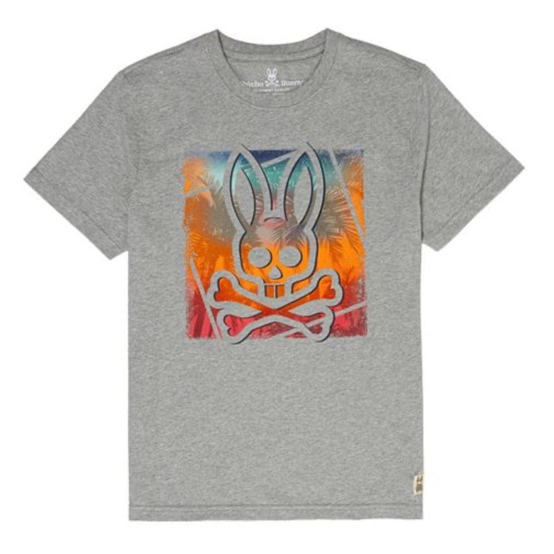 Psycho Bunny Strom T Shirt (Grey) B6U899K1PC