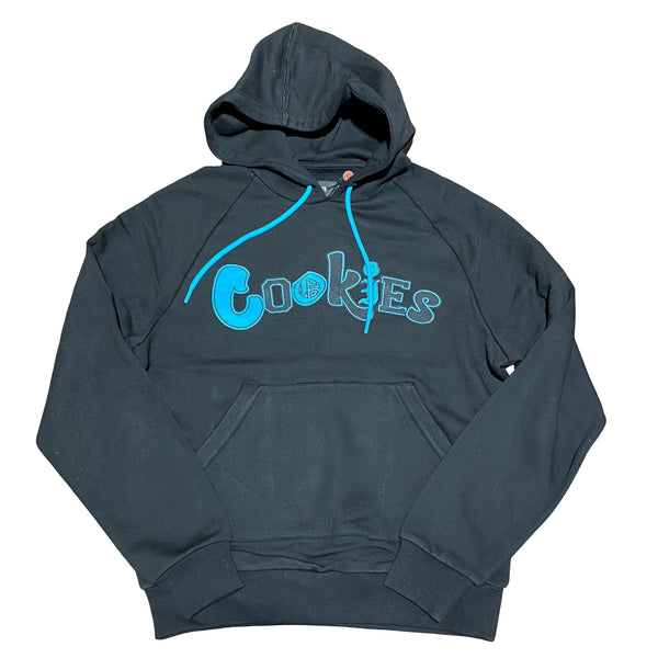 Cookies City Limits Fleece Pullover Hoodie (Black)