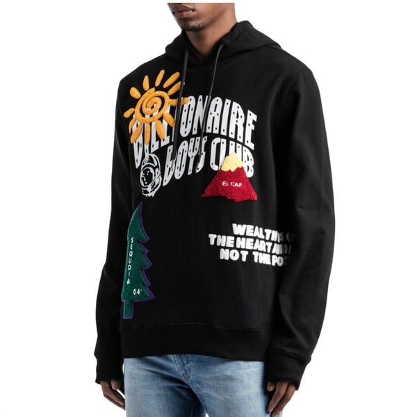 Billionaire Boys Club Peak Hoodie (Black)