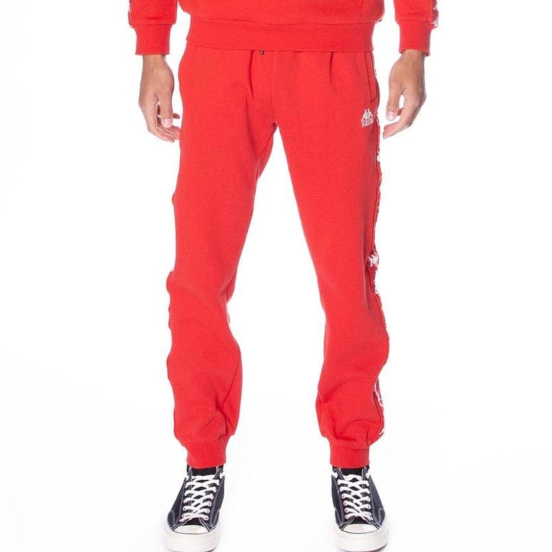 Kappa Banda Alanz Sweatpants Red/White