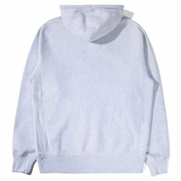 The Hundreds Glow Slant Pullover Hoodie (Heather Grey) T20W102055