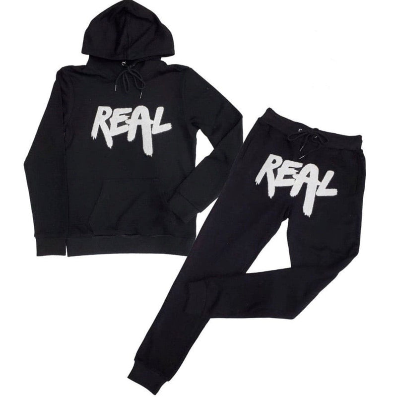 Rawyalty Real Jogging Set (Blk/White)