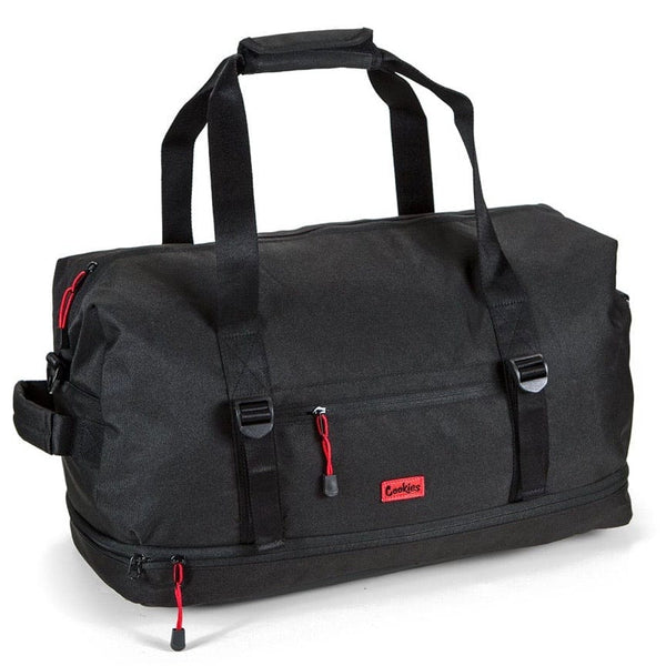 Cookies Explorer Nylon Duffel Bag Black