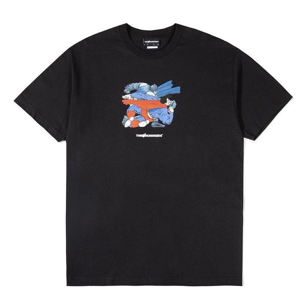 THE HUNDREDS T-SHIRT PUNCH BLACK