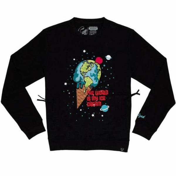 Civilized Ice Cream Crewneck (Black) CV2205