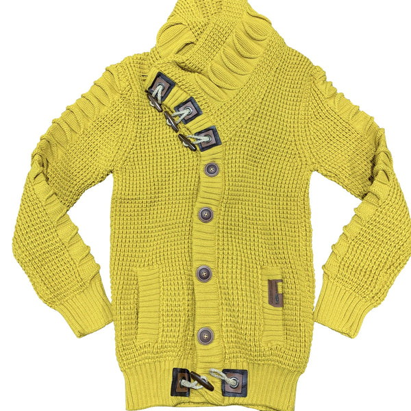 LCR SWEATER 5587 MUSTARD