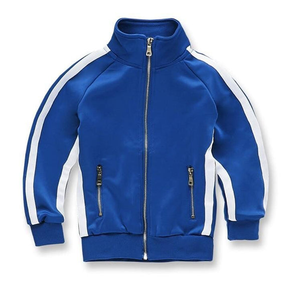 KIDS JORDAN CRAIG OXFORD TRACK TOP ROYAL BLUE