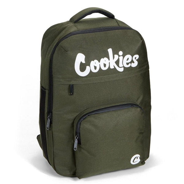 Cookies Backpack Eclipse Sateen Olive