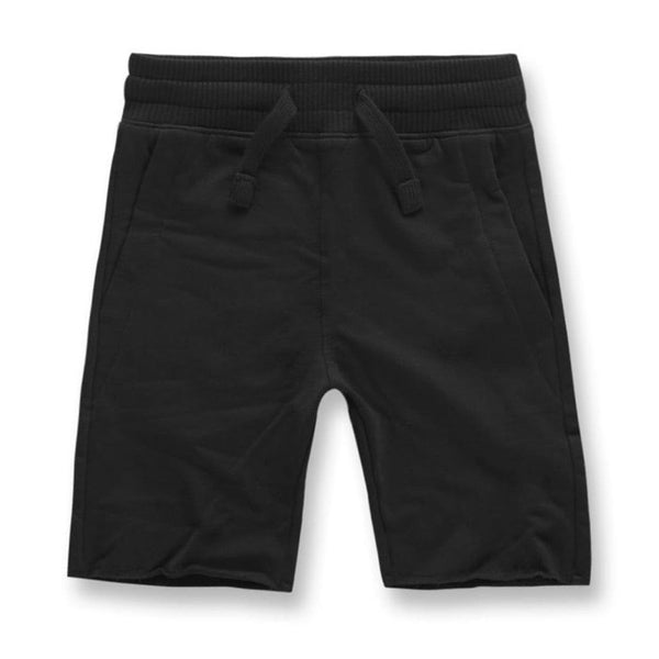 Kids Jordan Craig Palma French Terry Shorts  (Black)