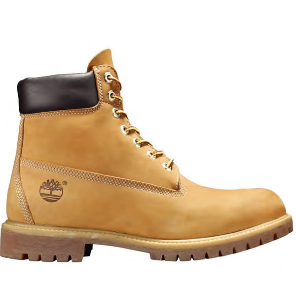 TIMBERLAND BOOT 6IN WATERPROOF NUBUCK WHEAT
