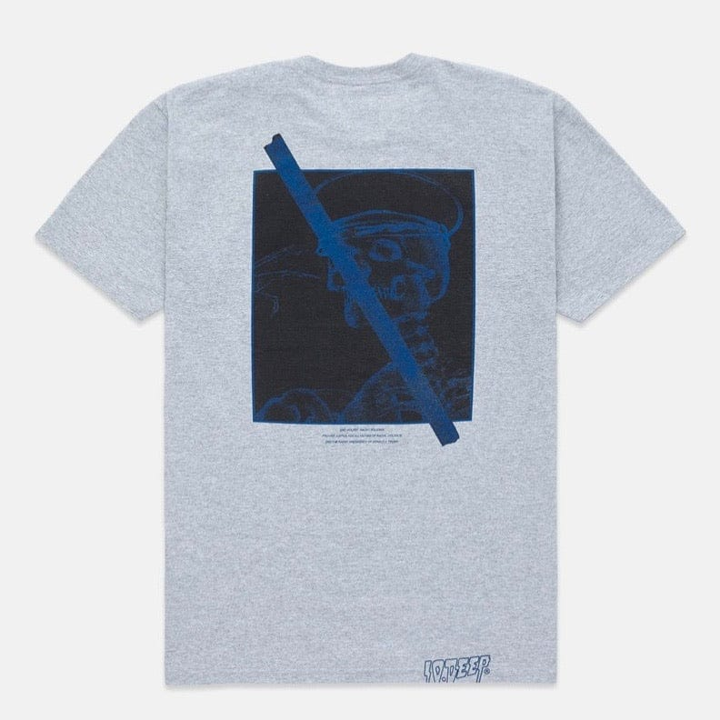 10 Deep Arrest The Police T Shirt (Heather Grey)