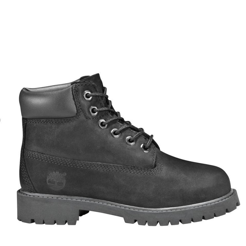 JUNIORS TIMBERLAND BOOT 6IN  BLACK