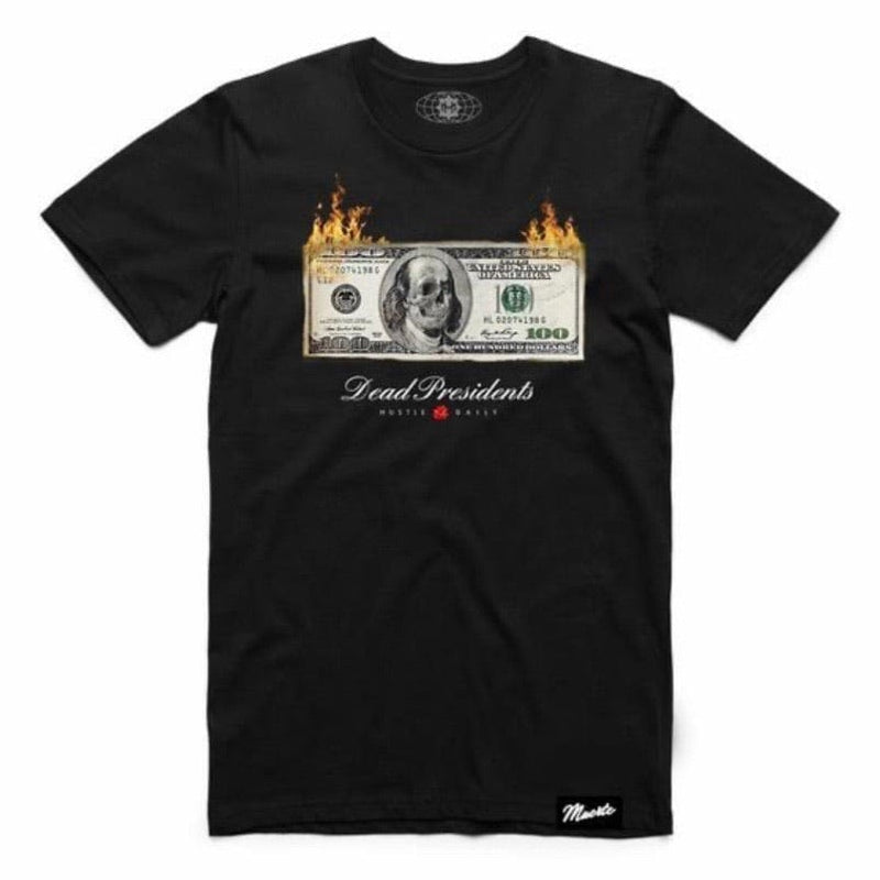 Muerte Hustle Daily Dead Money T Shirt (Black)