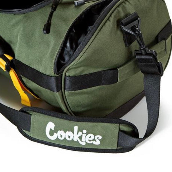 Cookies Parks Utility Duffel Bag (Olive)