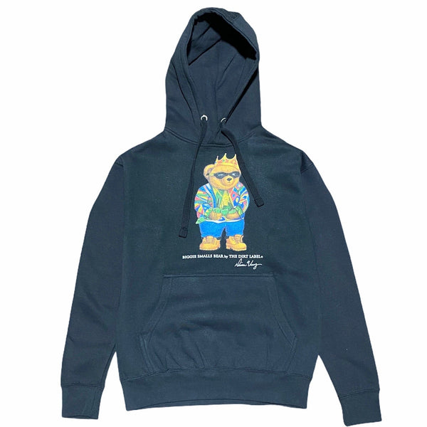 Dirt Label Biggie Bear Hoodie (Black)