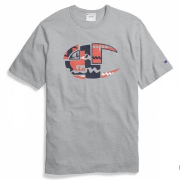 CHAMPION HERITAGE T-SHIRT GREY