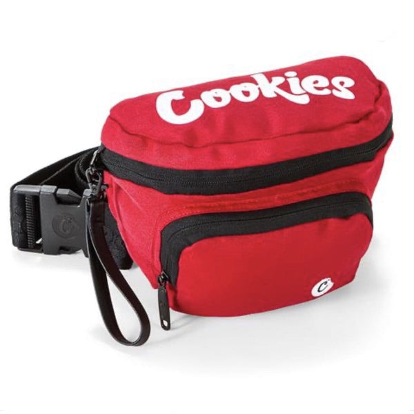 COOKIES SMELL PROOF FANNY PACK RED