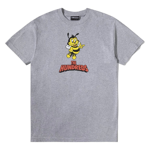 The Hundreds Point T Shirt Grey