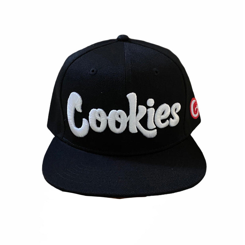 Cookies Glacier Of Ice Twill Snapback (Black/White) 1546X4336