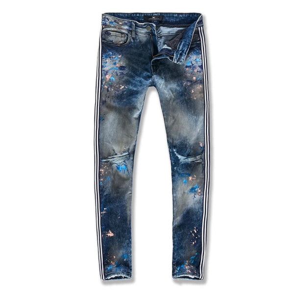Jordan Craig Sean Talladega Striped Denim Jeans (Electric Zoo) JM3419